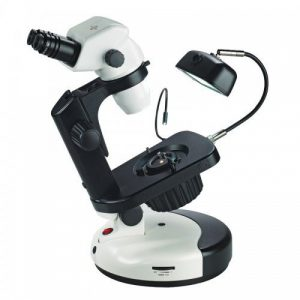 GEMOLOGICAL STEREO ZOOM PROFESSIONAL MICROSCOPE SERIES 3076